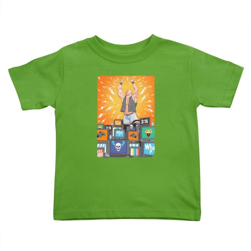 Glass Shatters Kids Toddler T-Shirt by RJ Artworks's Artist Shop