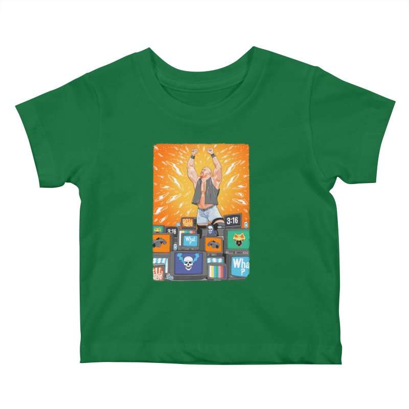 Glass Shatters Kids Baby T-Shirt by RJ Artworks's Artist Shop