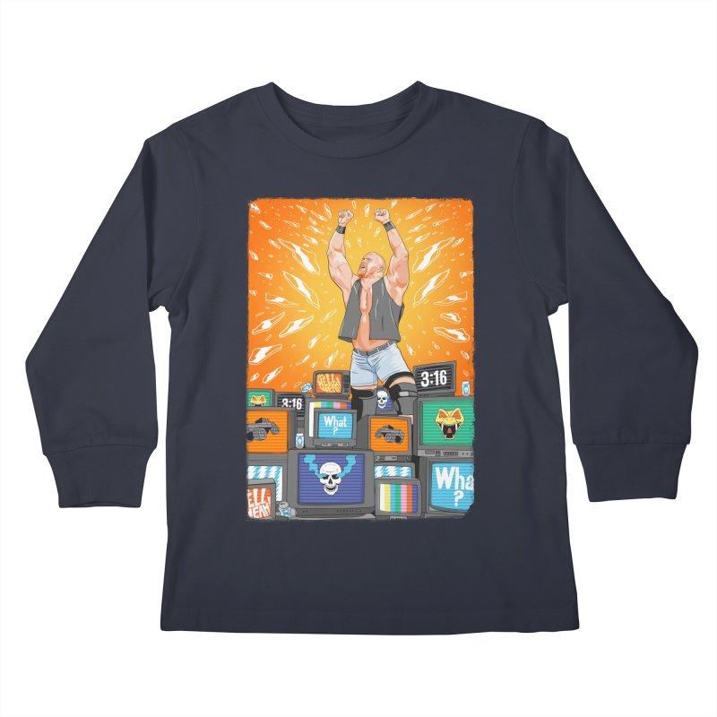 Glass Shatters Kids Longsleeve T-Shirt by RJ Artworks's Artist Shop