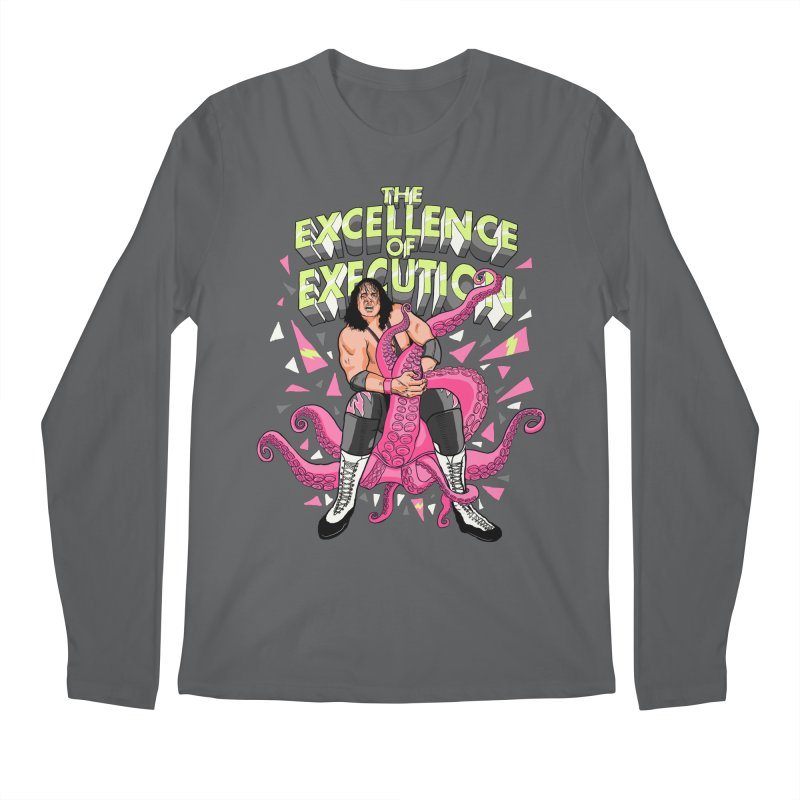 The Excellence of Execution Men's Longsleeve T-Shirt by RJ Artworks's Artist Shop