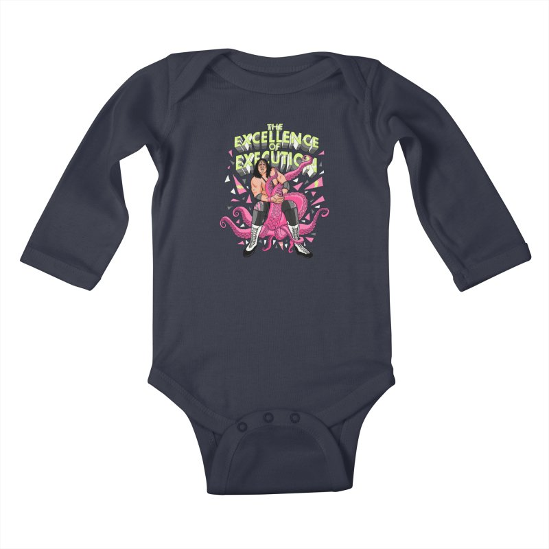 The Excellence of Execution Kids Baby Longsleeve Bodysuit by RJ Artworks's Artist Shop