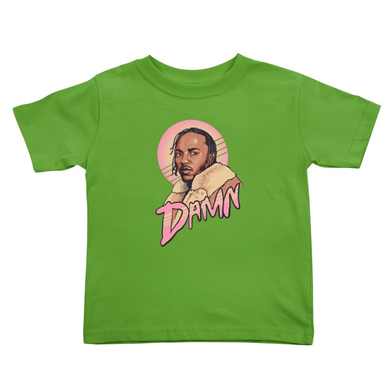 Damn Kids Toddler T-Shirt by RJ Artworks's Artist Shop