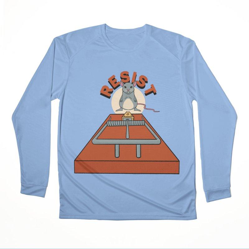 Resist Women's Longsleeve T-Shirt by RJ Artworks's Artist Shop