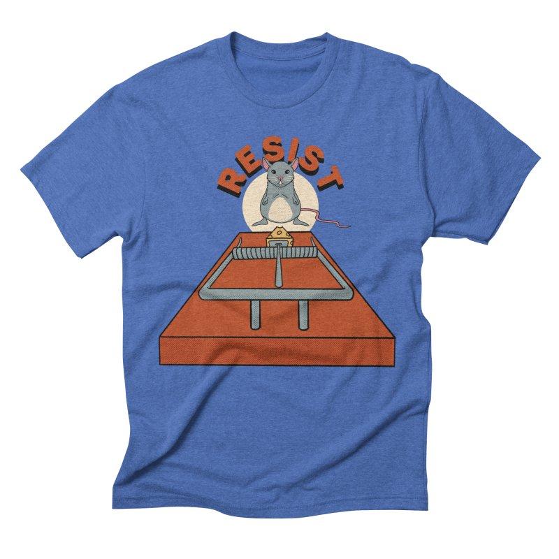 Resist Men's T-Shirt by RJ Artworks's Artist Shop