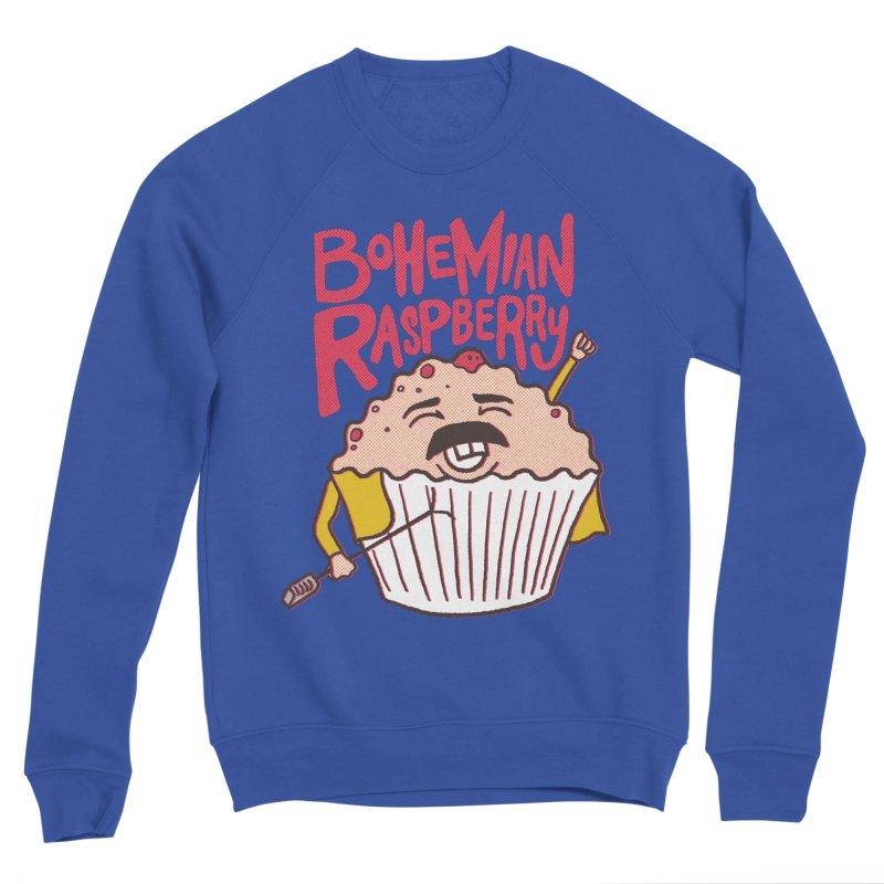 Bohemian Raspberry Men's Sweatshirt by RJ Artworks's Artist Shop