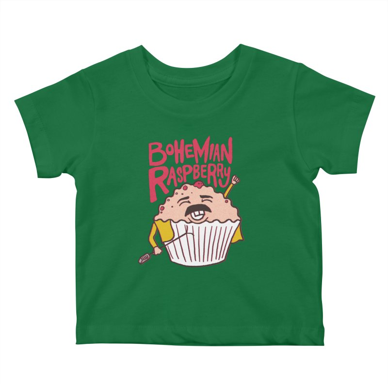 Bohemian Raspberry Kids Baby T-Shirt by RJ Artworks's Artist Shop