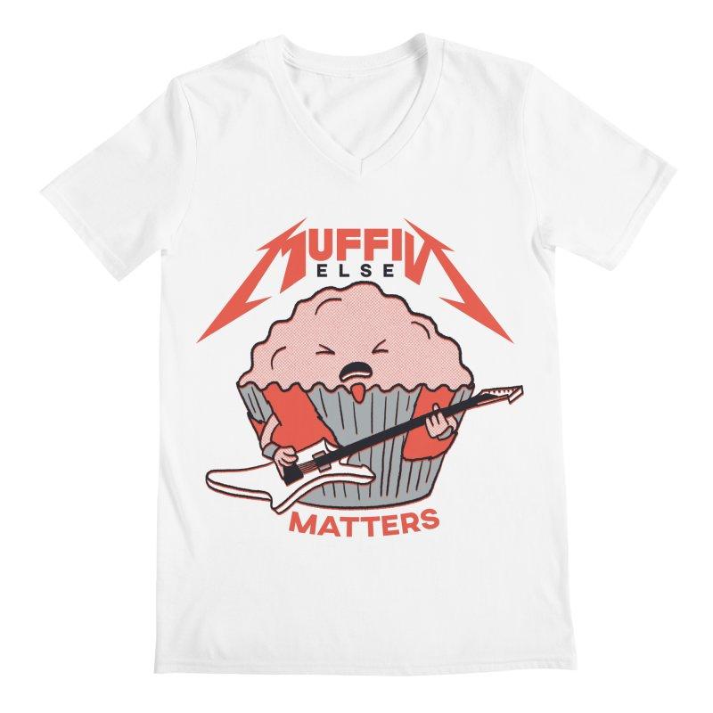 Muffin Else Matters Men's V-Neck by RJ Artworks's Artist Shop
