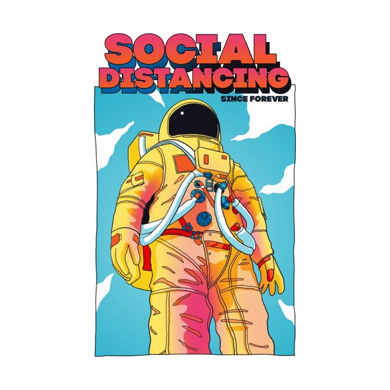 Social Distancing Home Fine Art Print by RJ Artworks's Artist Shop