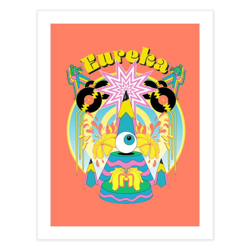 The Eureka Moment Home Fine Art Print by RJ Artworks's Artist Shop