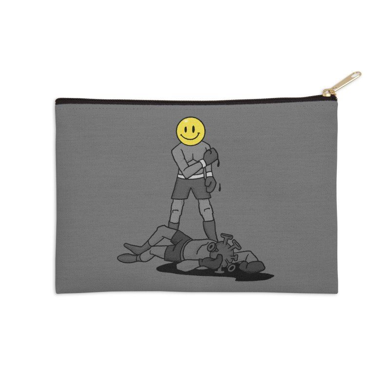 Humanity Fights Back Accessories Zip Pouch by RJ Artworks's Artist Shop