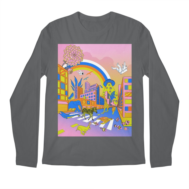 Planet Alternate Men's Longsleeve T-Shirt by RJ Artworks's Artist Shop