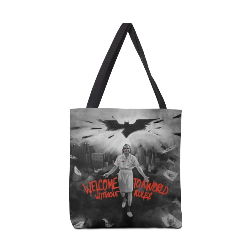 A World Without Rules Accessories Bag by RJ Artworks's Artist Shop