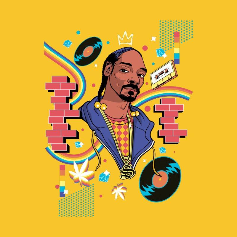 Hip-Hop Heroes: Snoop Accessories Zip Pouch by RJ Artworks's Artist Shop