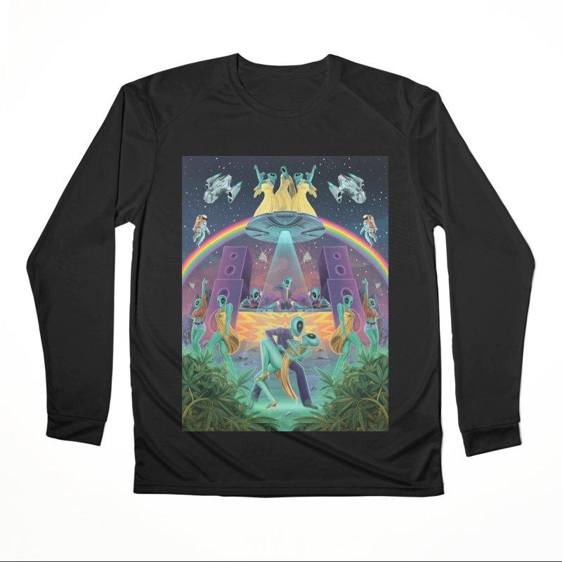 The Intergalactic Disco Fever Men's Longsleeve T-Shirt by RJ Artworks's Artist Shop
