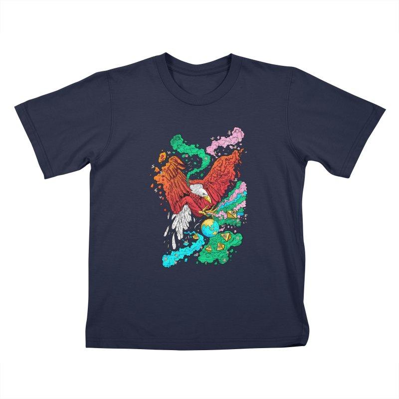Drop The World Kids T-Shirt by RJ Artworks's Artist Shop