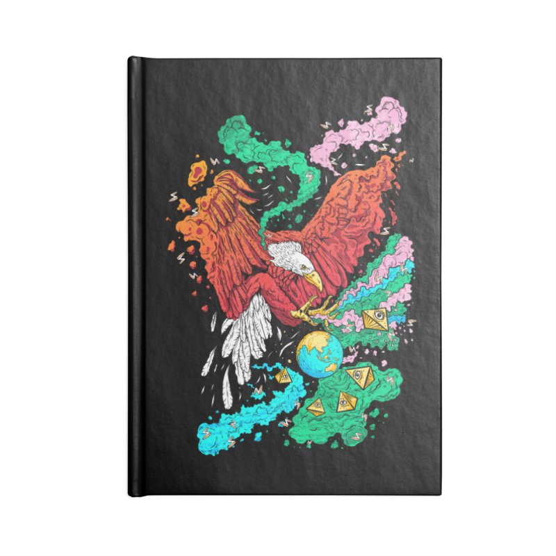 Drop The World Accessories Notebook by RJ Artworks's Artist Shop