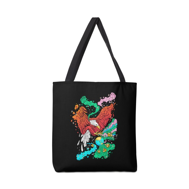 Drop The World Accessories Bag by RJ Artworks's Artist Shop
