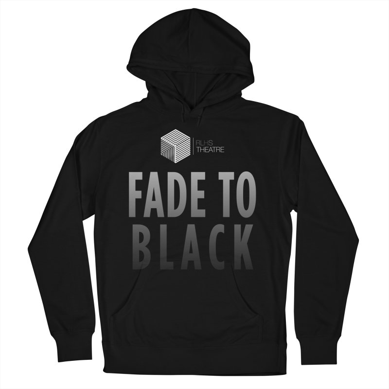Fade to Black in Men's French Terry Pullover Hoody Black by