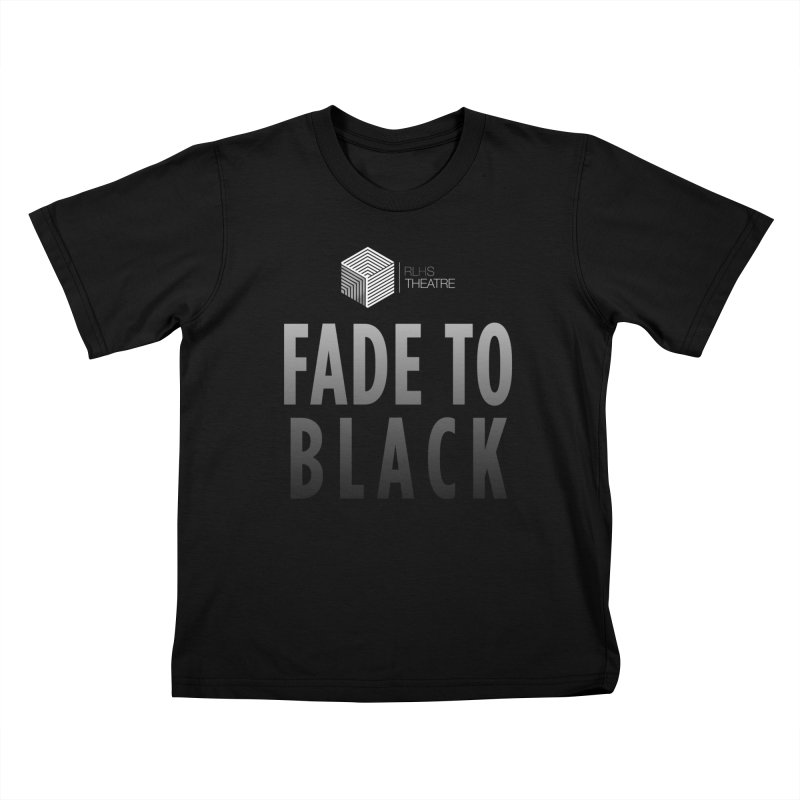 Fade to Black Kids T-Shirt by