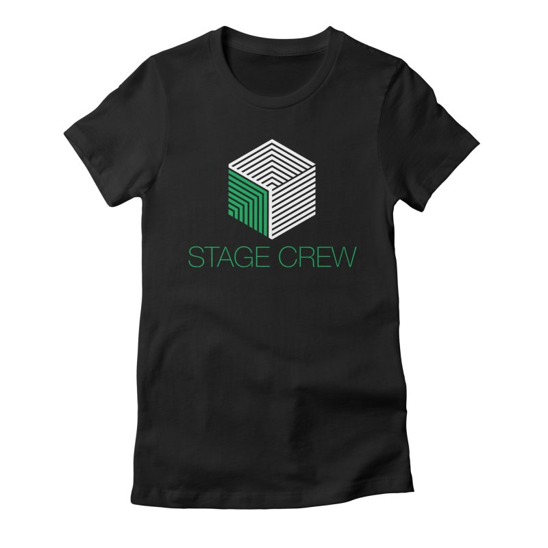 Stage Crew Women's Fitted T-Shirt by