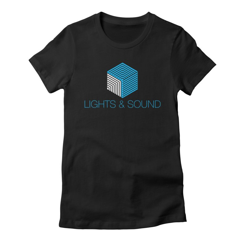 Lights and Sound Crew Shirt Women's T-Shirt by