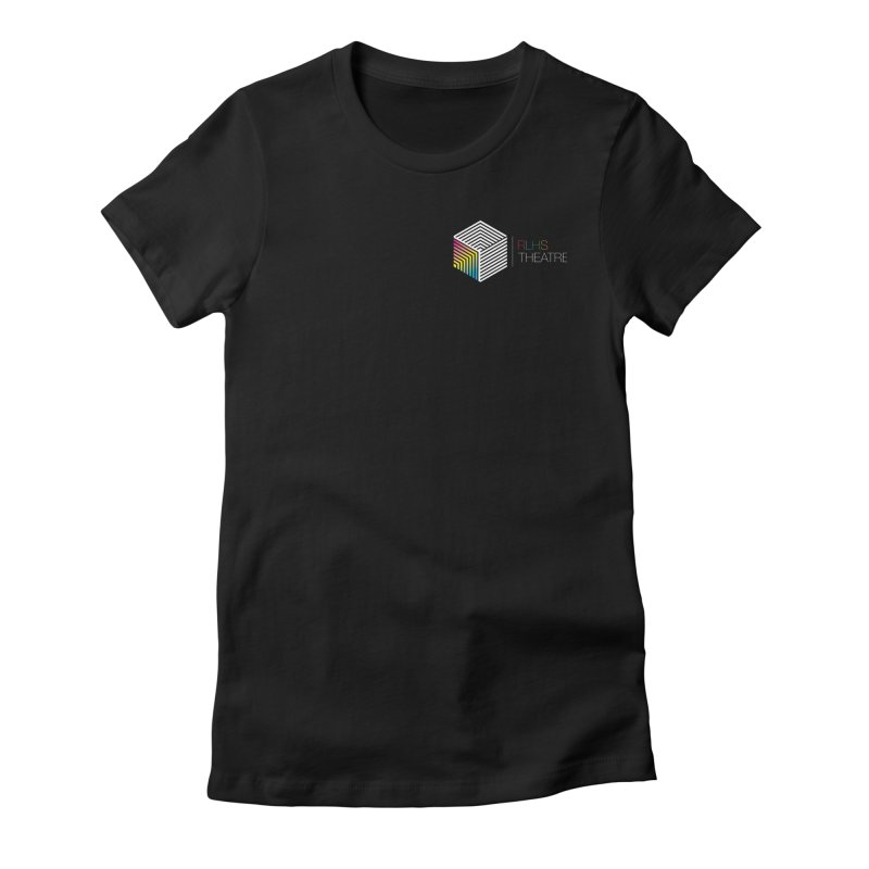Simple Logo Shirt in Women's Fitted T-Shirt Black by