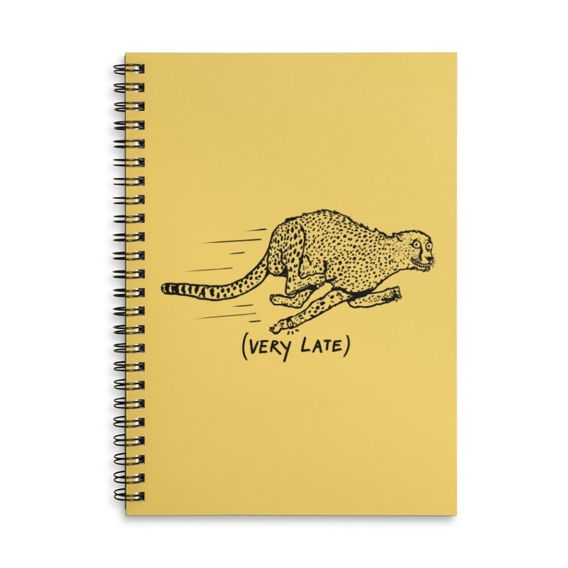 Just a weird scene # 08 Accessories Lined Spiral Notebook by RL76