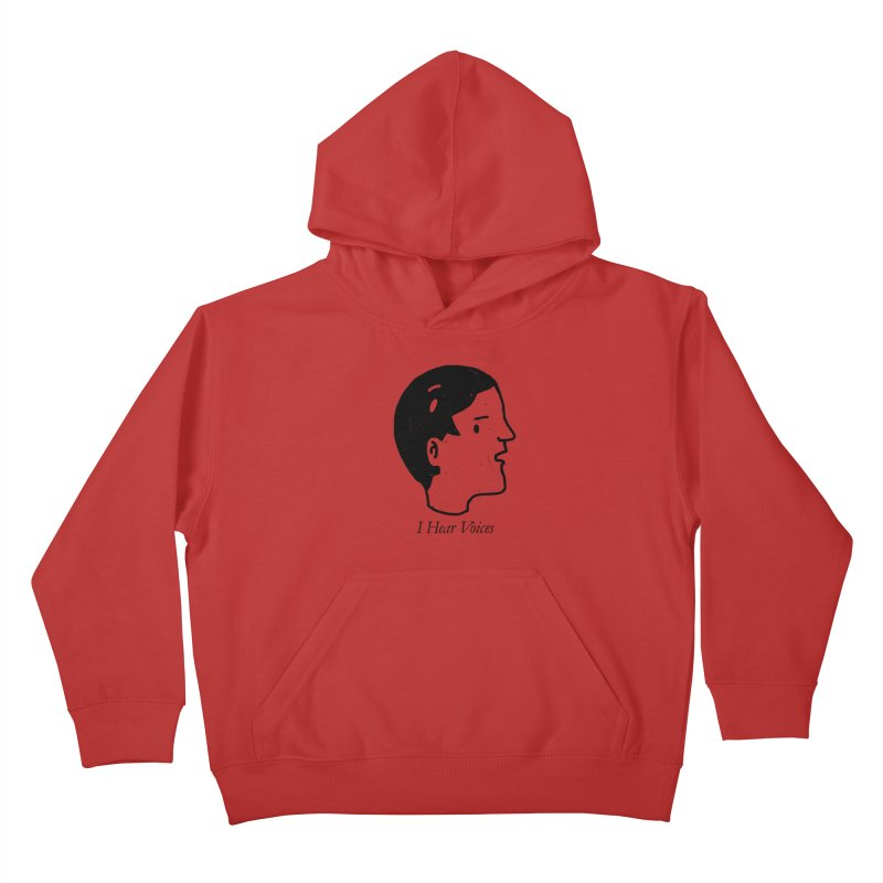 Just a weird scene # 26 Kids Pullover Hoody by RL76