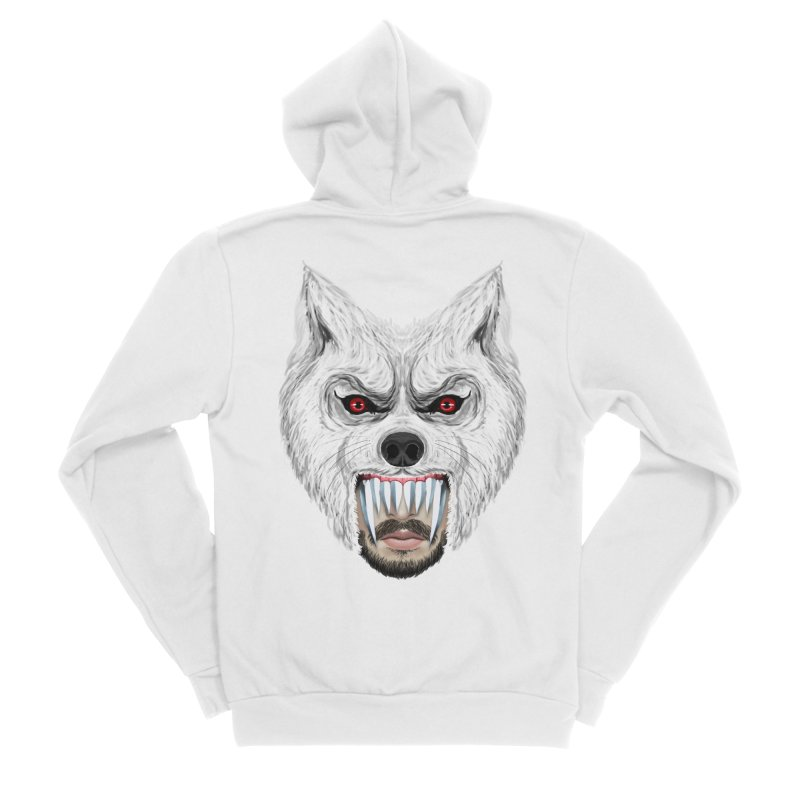 Just a weird scene # 42 Women's Sponge Fleece Zip-Up Hoody by RL76
