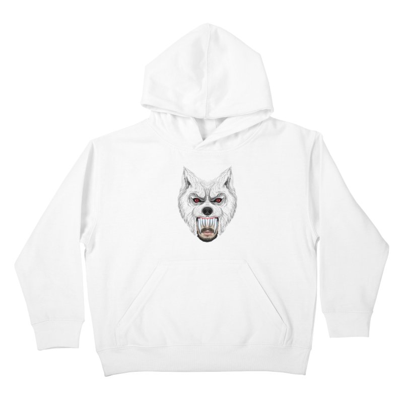 Just a weird scene # 42 Kids Pullover Hoody by RL76
