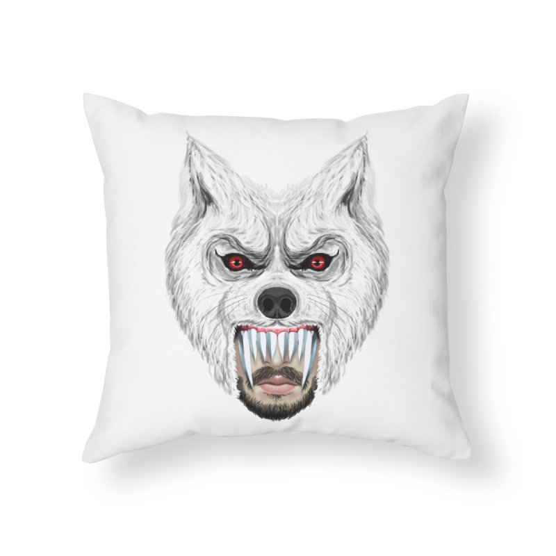Just a weird scene # 42 Home Throw Pillow by RL76