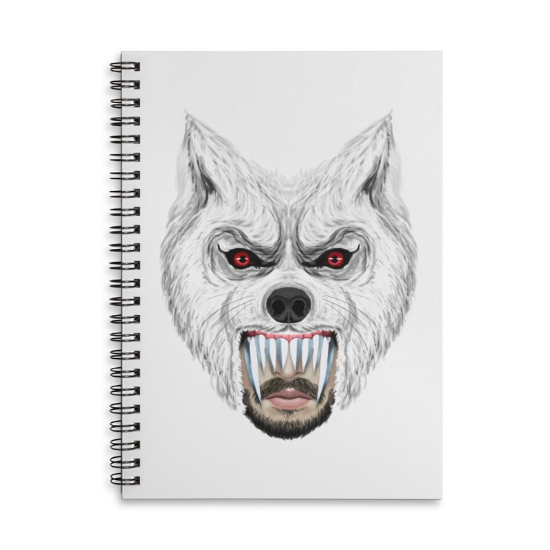 Just a weird scene # 42 Accessories Lined Spiral Notebook by RL76
