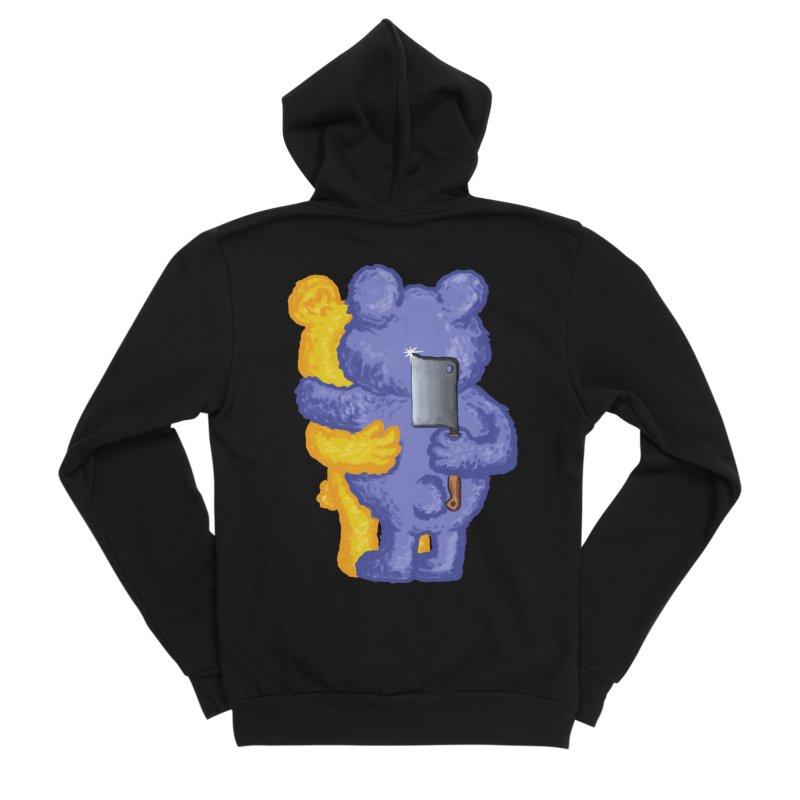 Just a weird scene # 35 Men's Sponge Fleece Zip-Up Hoody by RL76
