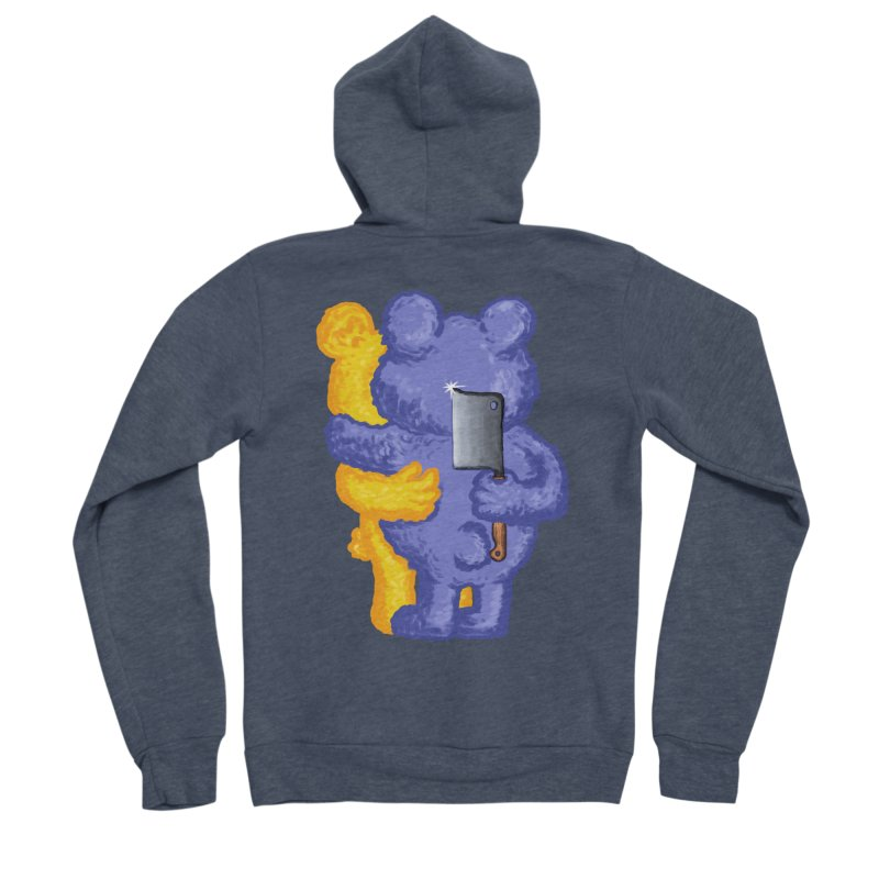 Just a weird scene # 35 Women's Sponge Fleece Zip-Up Hoody by RL76