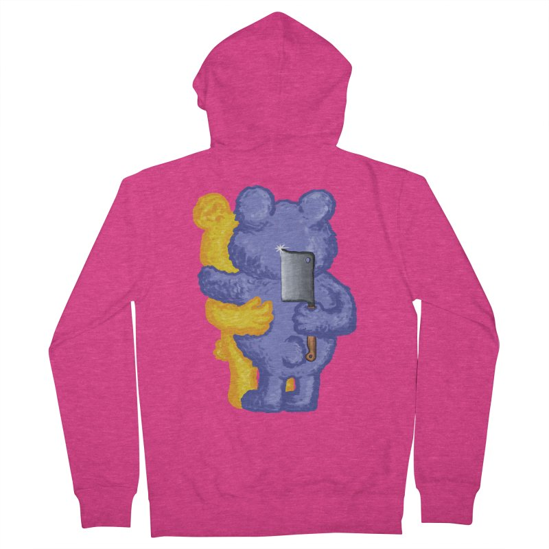 Just a weird scene # 35 Women's French Terry Zip-Up Hoody by RL76