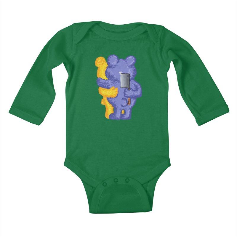 Just a weird scene # 35 Kids Baby Longsleeve Bodysuit by RL76