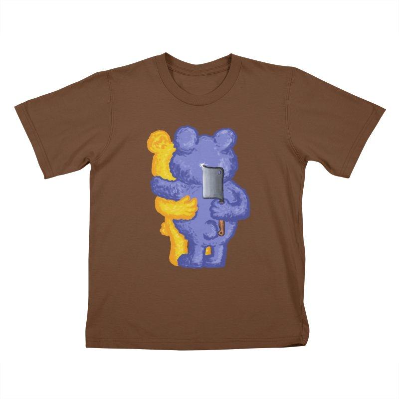 Just a weird scene # 35 Kids T-Shirt by RL76