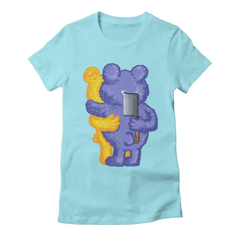 Just a weird scene # 35 Women's Fitted T-Shirt by RL76
