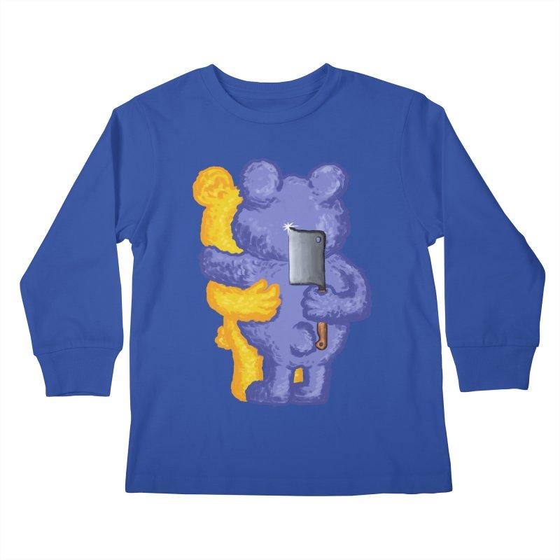 Just a weird scene # 35 Kids Longsleeve T-Shirt by RL76