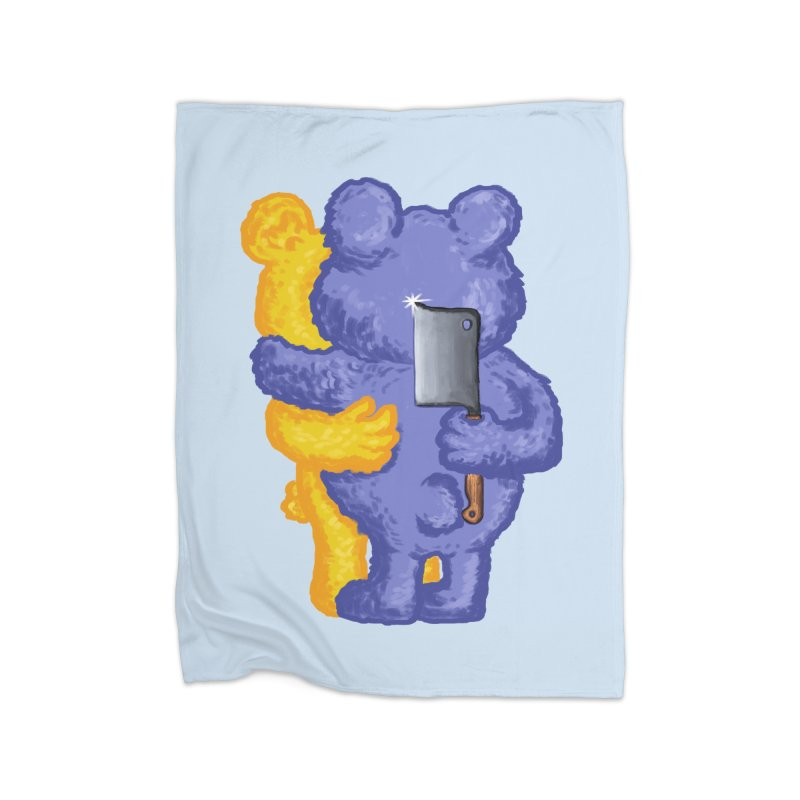 Just a weird scene # 35 Home Fleece Blanket Blanket by RL76