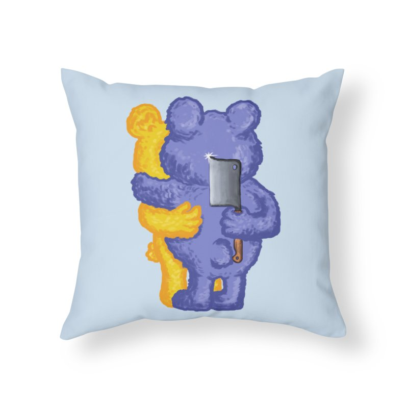 Just a weird scene # 35 Home Throw Pillow by RL76