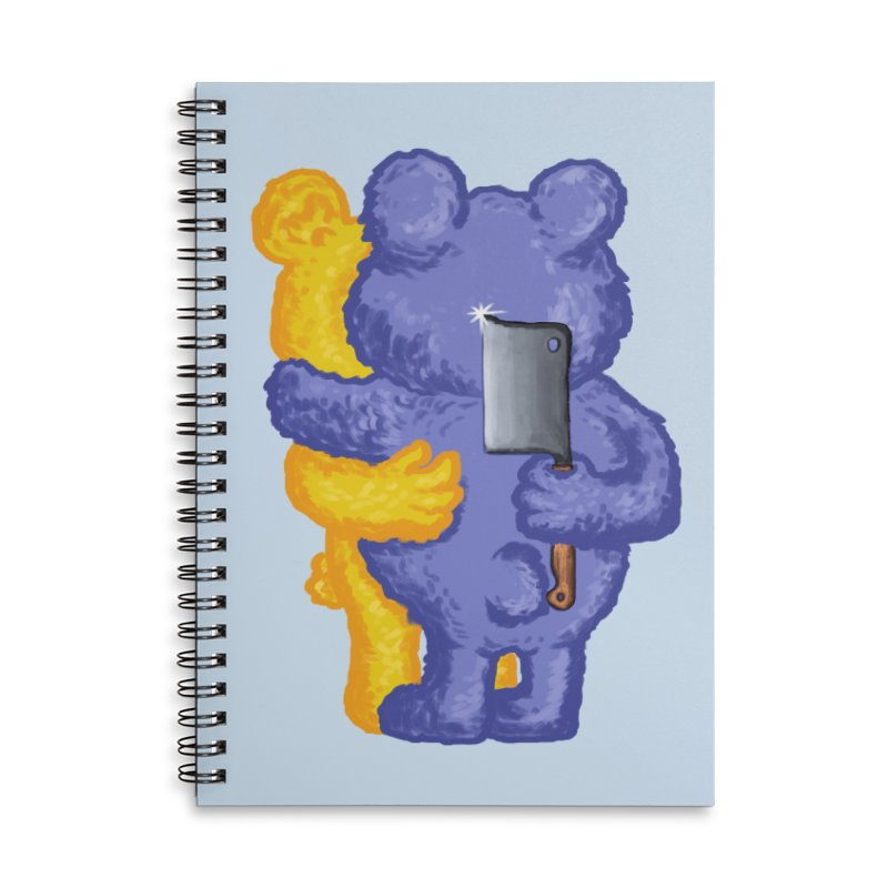 Just a weird scene # 35 Accessories Lined Spiral Notebook by RL76