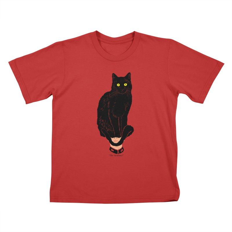 Just a weird scene # 14 Kids T-Shirt by RL76