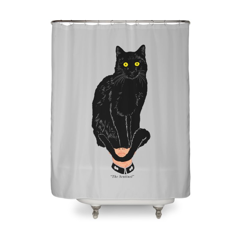 Just a weird scene # 14 Home Shower Curtain by RL76