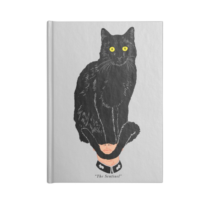 Just a weird scene # 14 Accessories Lined Journal Notebook by RL76