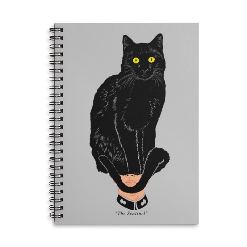Just a weird scene # 14 Accessories Lined Spiral Notebook by RL76