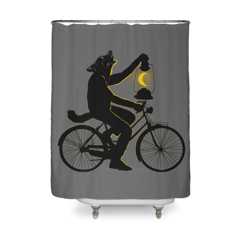 Guided by the Moon Home Shower Curtain by RL76