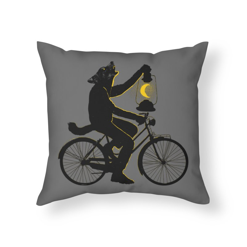 Guided by the Moon Home Throw Pillow by RL76