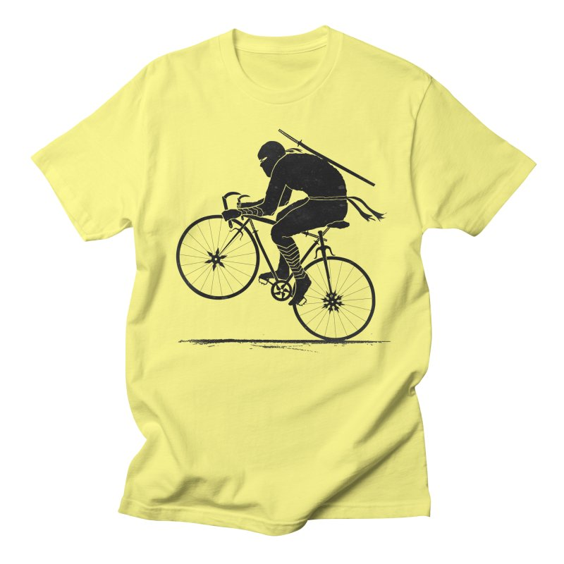 Ninja Rider Again Men's Regular T-Shirt by RL76