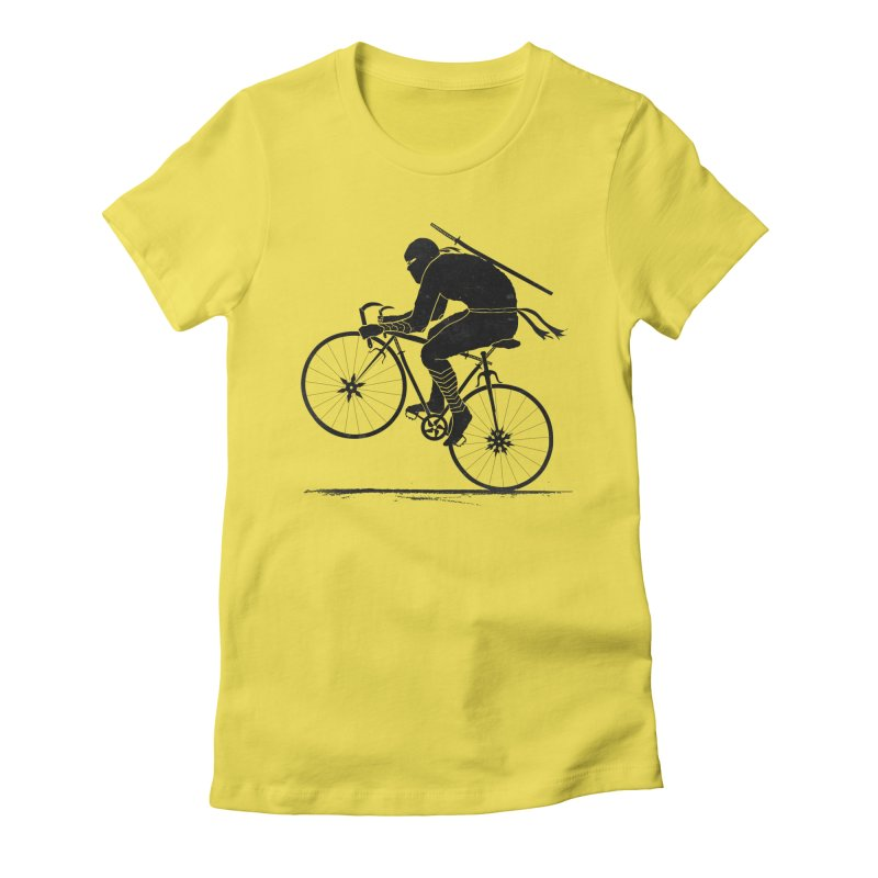 Ninja Rider Again Women's Fitted T-Shirt by RL76